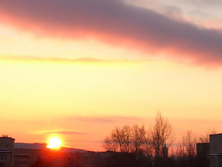 зима 2014, снег, новый год, скоро новый год, солнце, старый год, вечер