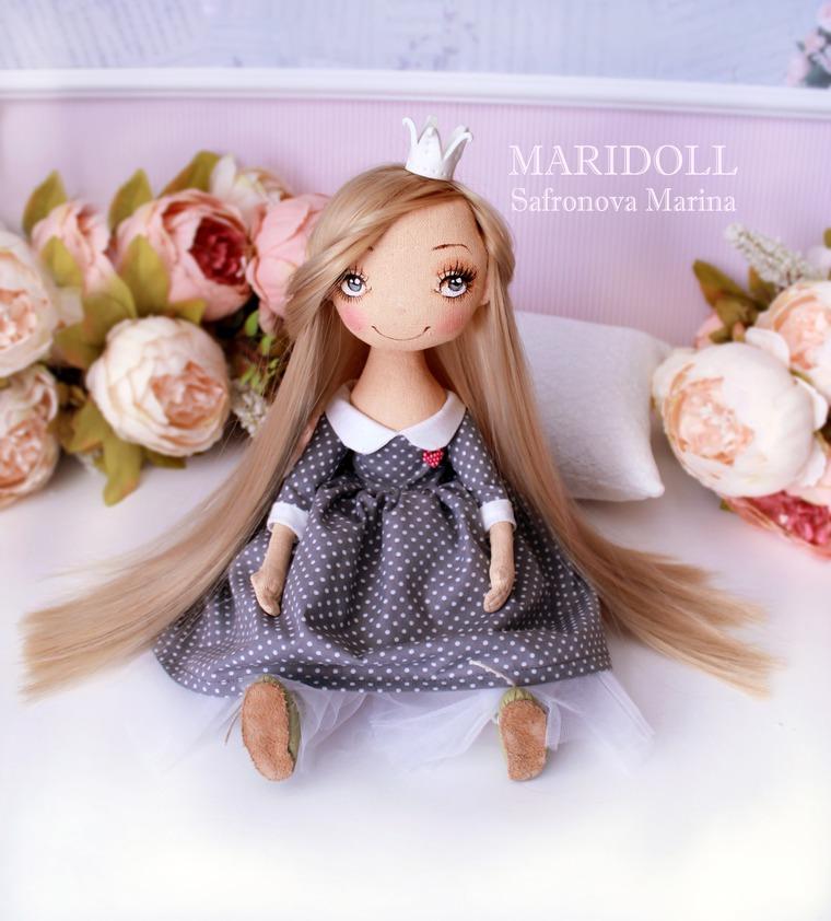 принцесса на горошине, кукла для спальни