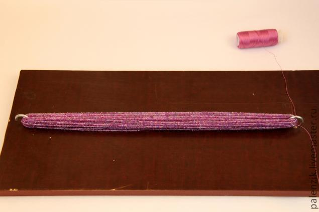 Секреты изготовления и сборки бисерных бус-хомутов