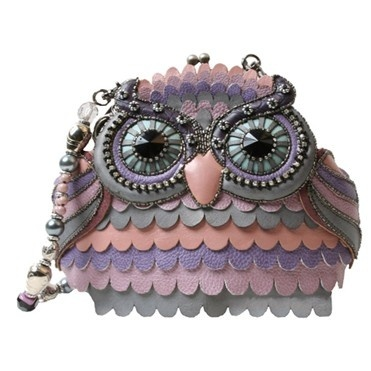 Mary Frances Resort -  Who's There?  The newest owl novelty handbag has arrived.