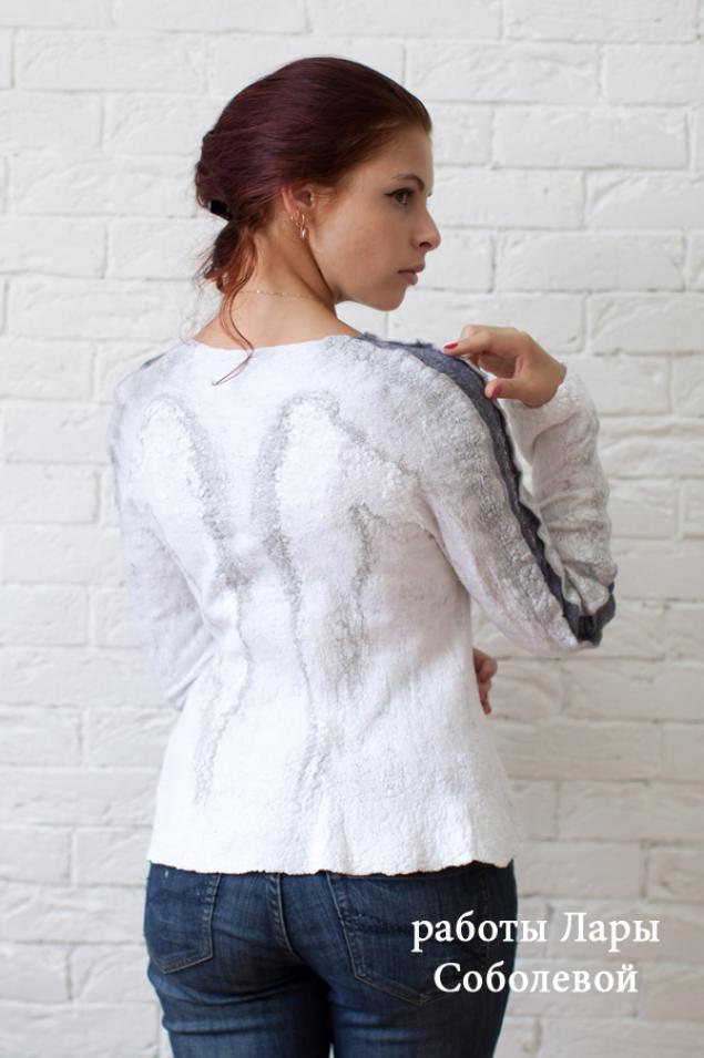 Валяние свитера мастер класс