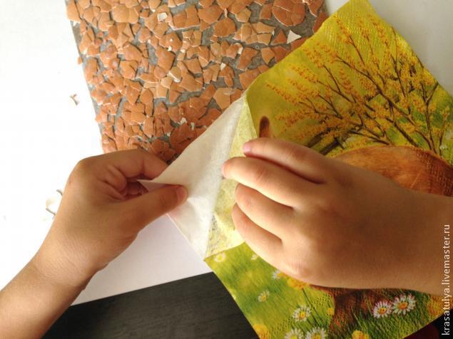 Делаем фреску вместе с детьми, фото № 7