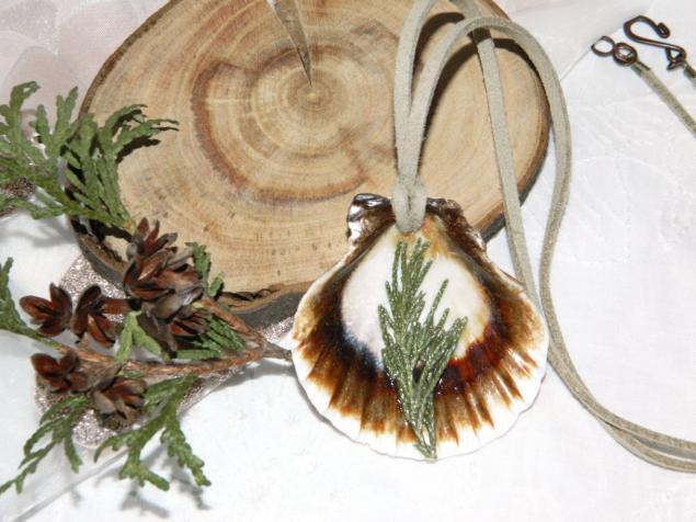 сухоцветы для декора, бижутерия из ракушек