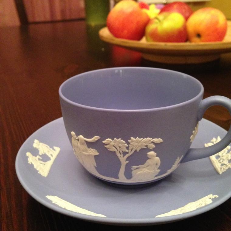 веджвуд, чай, гейша, старая англия, антиквариат, кофейная пара, для кофе