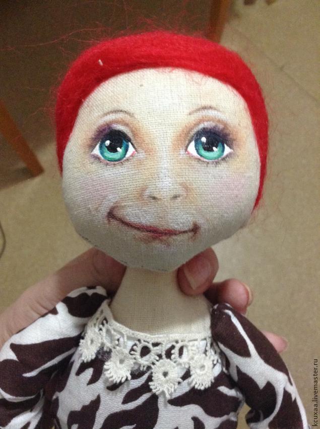 Фото как сделать лицо кукле