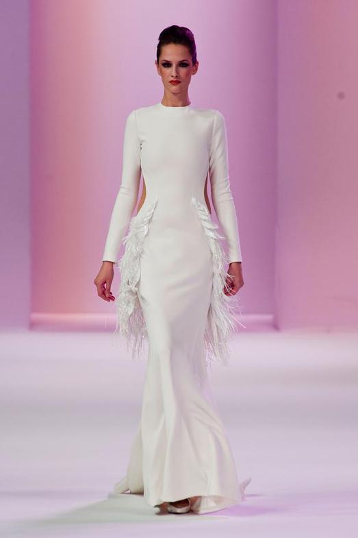 Stephane Rolland Haute Couture весна-лето 2014, фото № 20