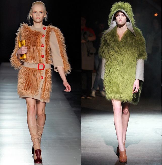 длинноворсовый, модные тенденции