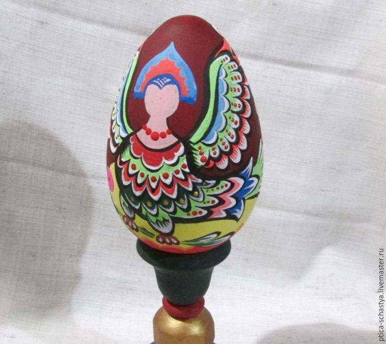 Делаем пасхальное яйцо «Сирин», фото № 16