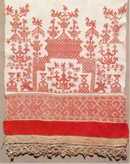 Цвета русской народной вышивки