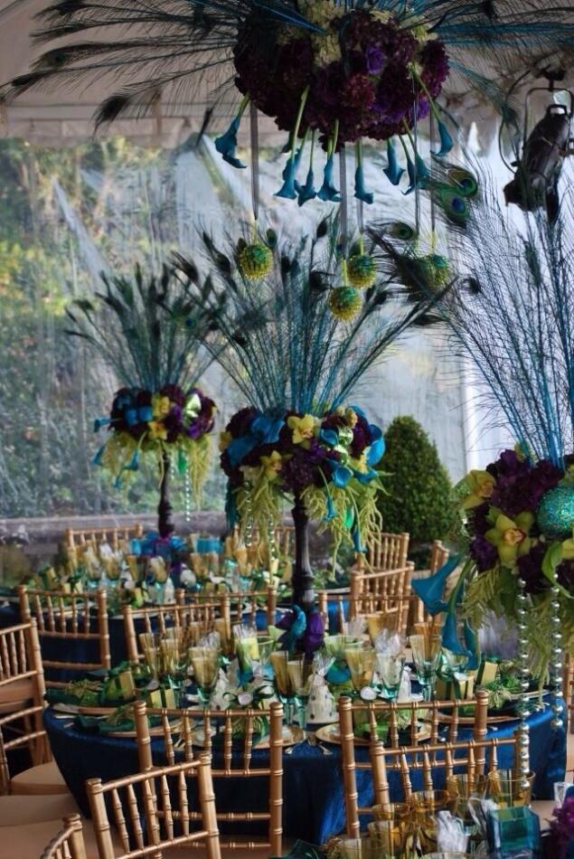 павлинья свадьба