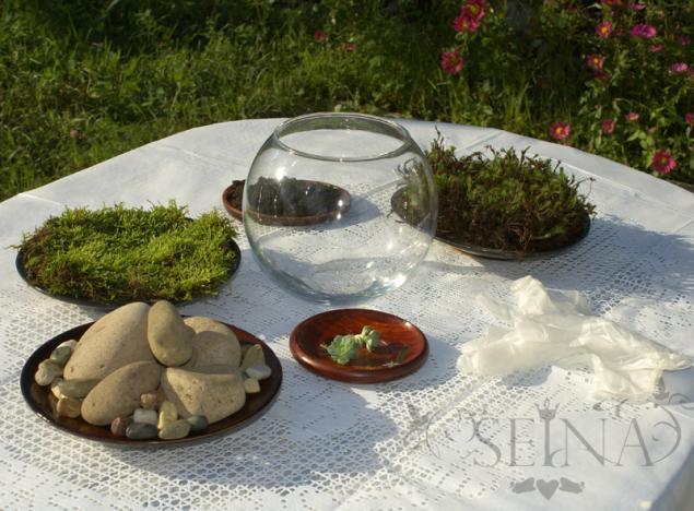 Миниатюрный сад на окне