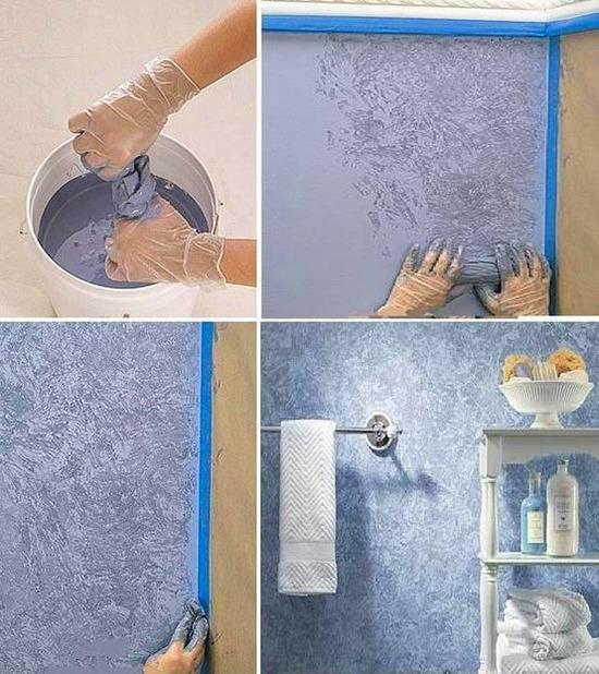 Колоритно и фактурно 20 креативных идей для декора стен и пола, фото № 2