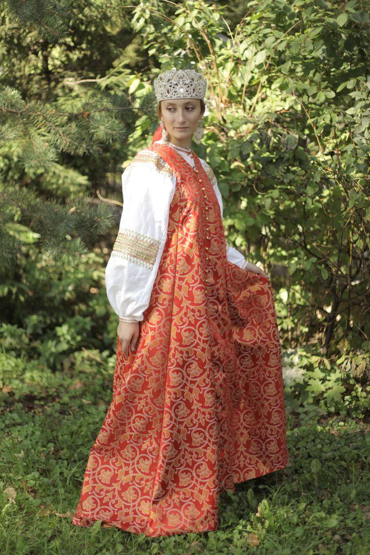 Сшить сарафан в русский народный сарафан фото 371