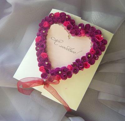 День влюбленных валентинки своими руками