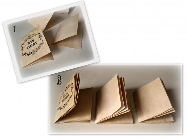 Как сделать маленькую книжечку своими руками