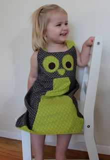 sew easy being green: Adorable Owl Jumper