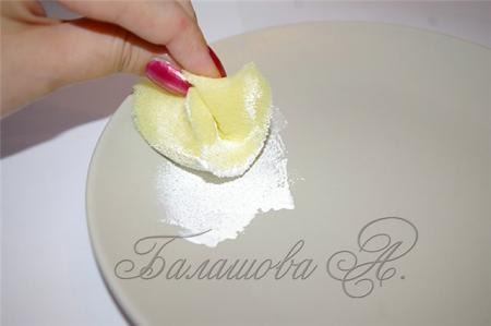 декупаж тарелки мк