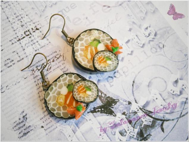 суши серьги
