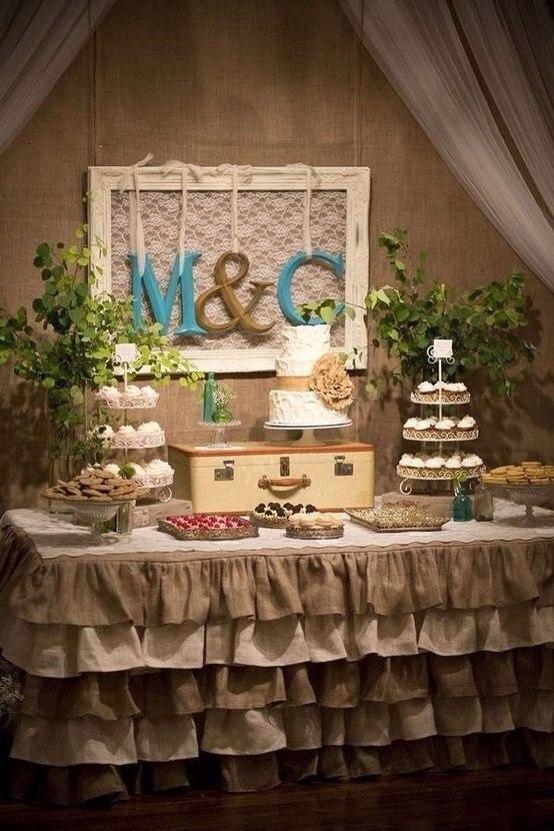 Льняная свадьба. Идеи для вдохновения, фото № 43