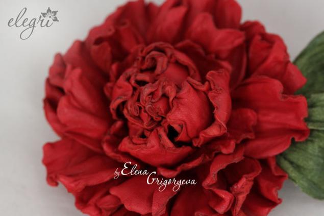 авторские цветы, брошь авторская, эксклюзивная роза
