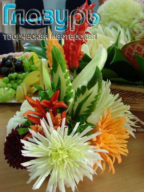 карвинг, овощи