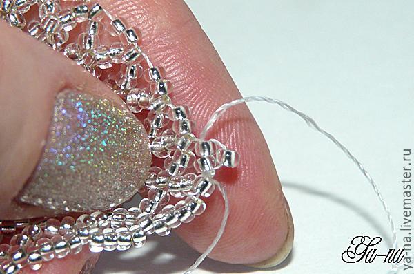 МК по плетению кулона-цветка из китайского бисера Цветок Для .  1.Я предлагаю вашему вниманию мастер-класс по...