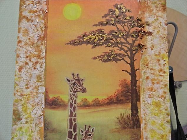 пейзаж, жирафы, отчет мк