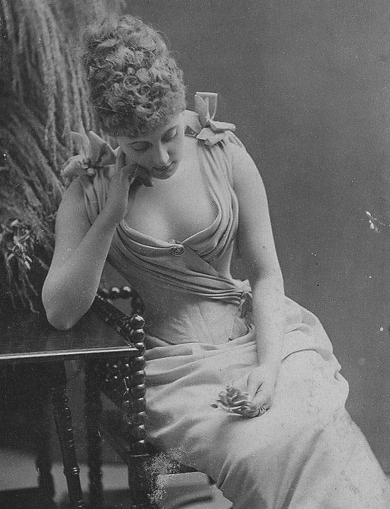 женщина викторианской