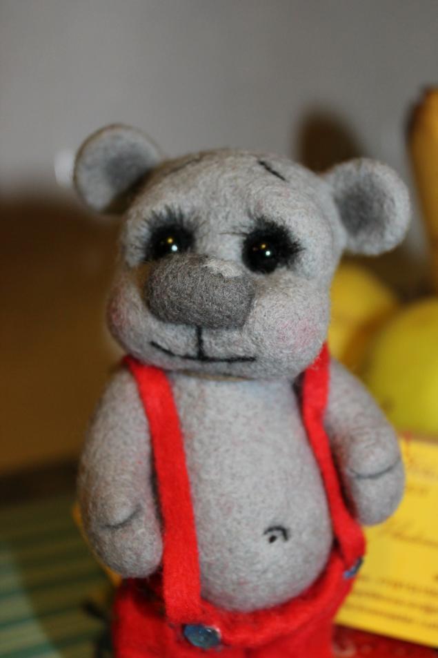 войлочный мишка, медвежонок