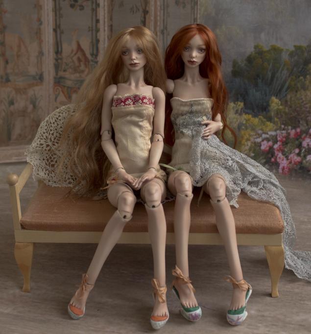 шарнирная кукла, авторская кукла