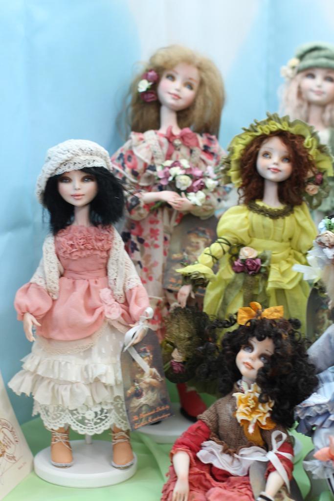 Международной выставка авторских кукол и мишек «Панна DOLL'я» в Минске. Часть 1., фото № 6
