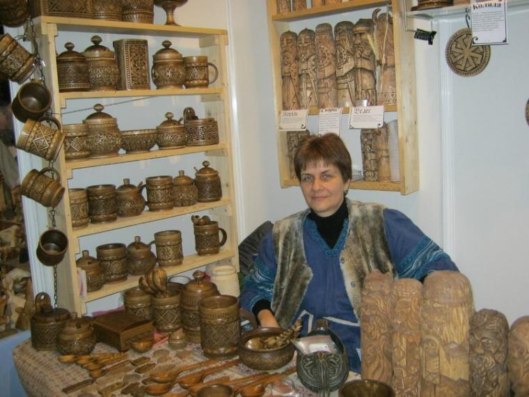 техника резьбы, древесина