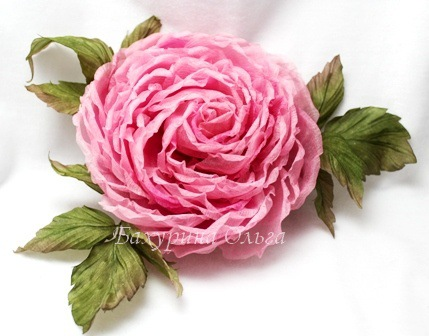 мастер-класс, цветоделие, цветы ручной работы