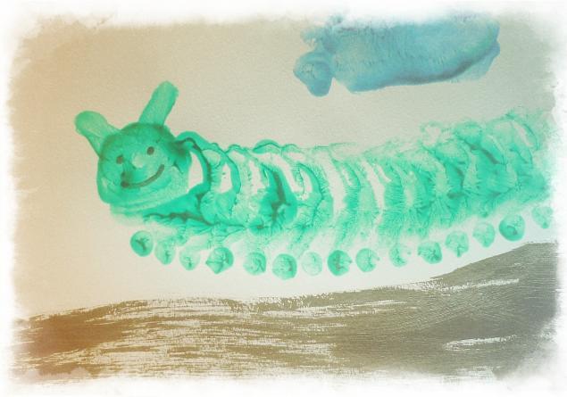 Каляки-маляки или Как мы рисуем пальчиками, ладошками и ножками, фото № 8