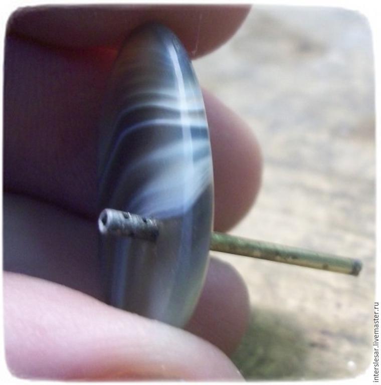Как сделать отверстие в камни в домашних условиях