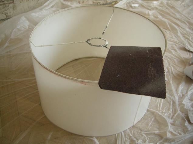Реставрация абажур своими руками