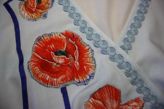 маки, текстильный дизайн