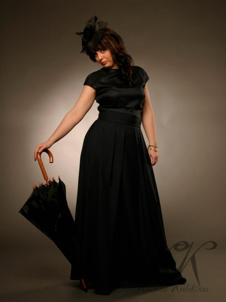 распродажа одежды, юбка в пол