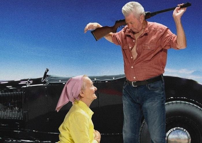 Joanna Trachenberg (81 год) и Horst Krischat (78 лет)