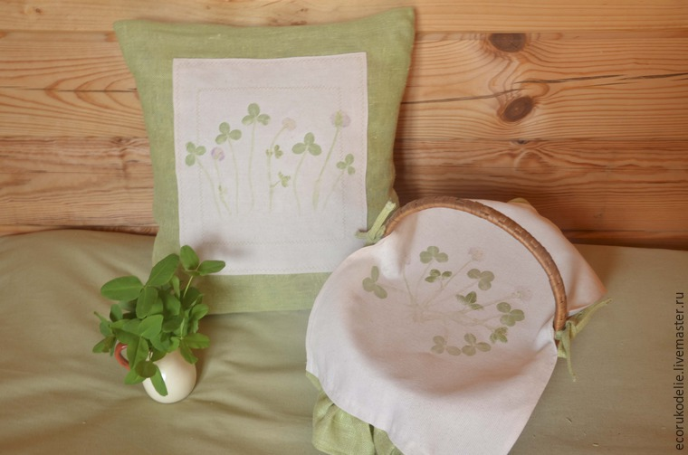 How to Make Plant Prints on Fabric, фото № 17