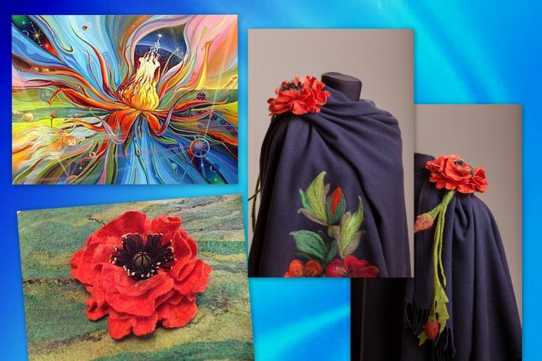мастер-класс, мокрое валяние, палантин, одежда из войлока, цветы ручной работы, цвет, мастер-класс по валянию, октябрь, детская одежда, жилет