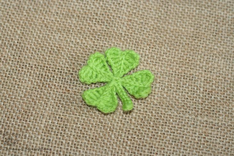 Crochetting a Four Leaf Clover, фото № 19