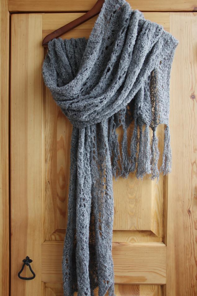 теплая шаль