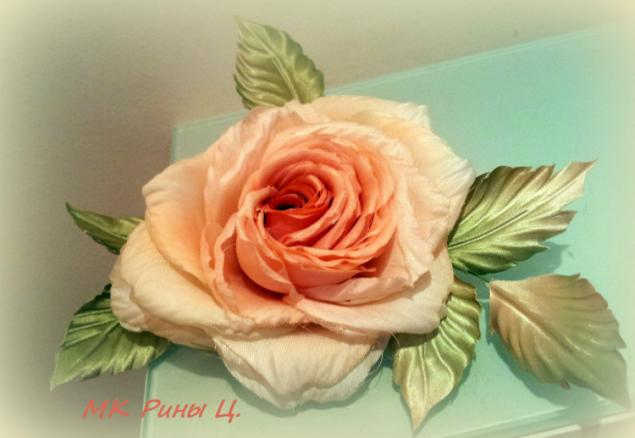 рина царева, цветы из ткани