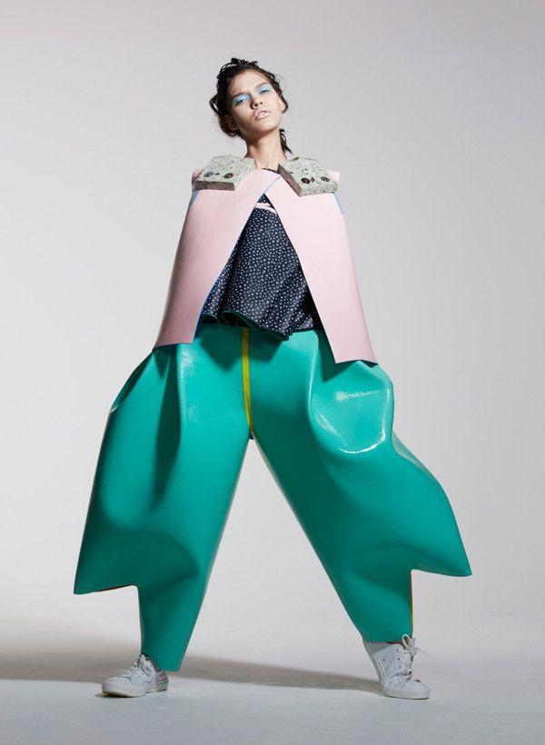 креативные одежда женская фото маленького