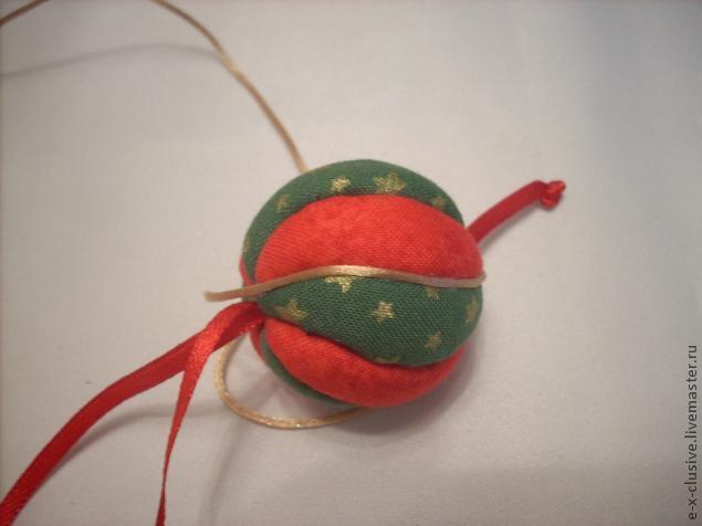 Елочные шары в технике кимекоми, фото № 16