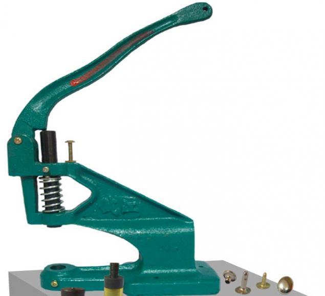 установка фурнитуры, пресс dep-2, ручной инструмент