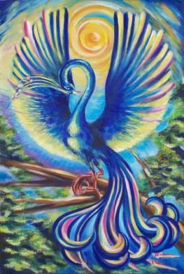 синяя птица, мечта, коллекция, синий