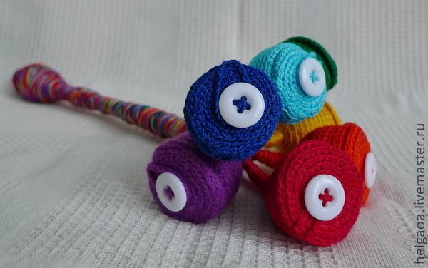 Делаем сами развивающую игрушку «Волшебный цветок», фото № 1
