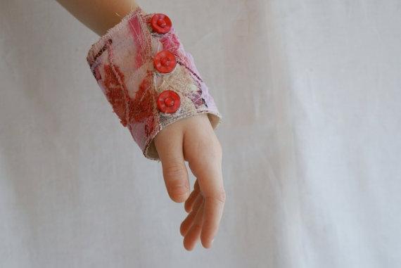 браслет из текстиля
